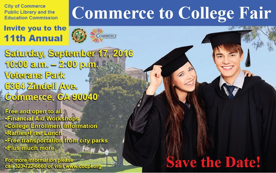 11th Annual Commerce to College Fair 9-17-16.png